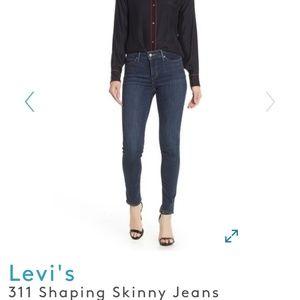 Levi's women's 311 shaping skinny 28